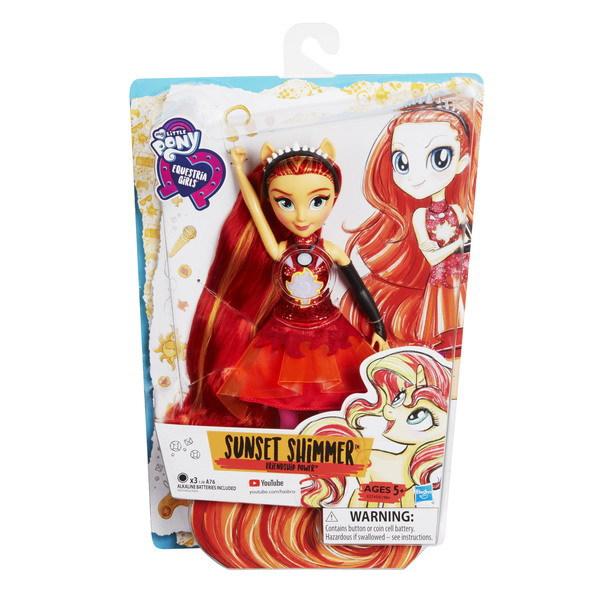 My Little Pony Equestria Girls. Кукла интерактивная (в ...