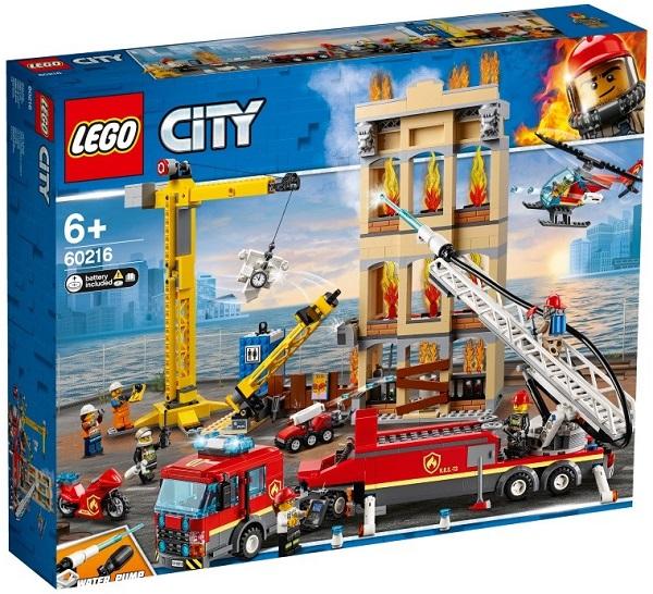 Конструктор LEGO CITY Центральная Пожарная Станция