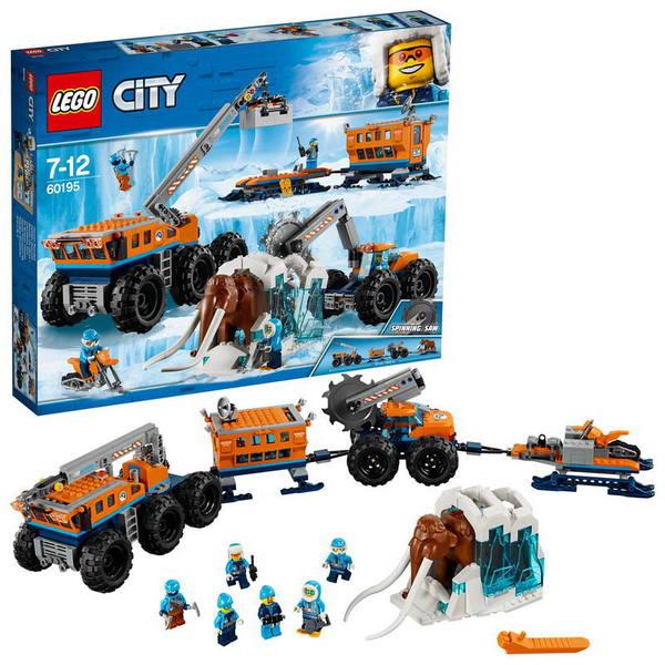 Конструктор LEGO CITY Передвижная арктическая база