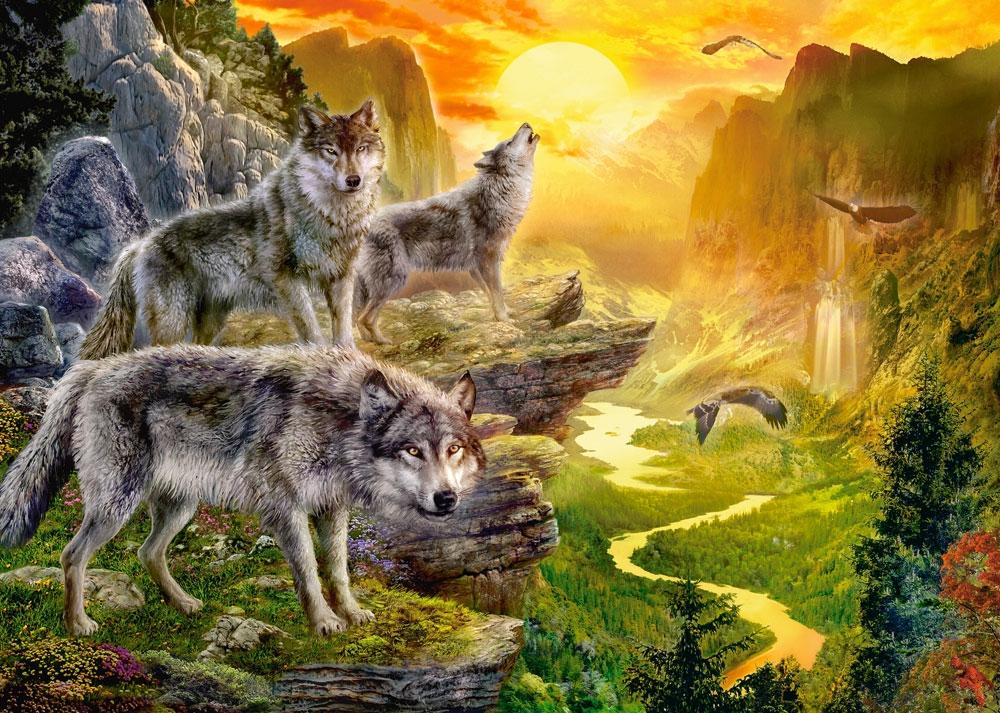 Показать оскал волка фото