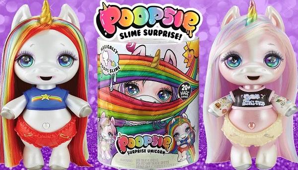 Единорожка Poopsie Slime Surprise MGA (Радужный/Розовый)