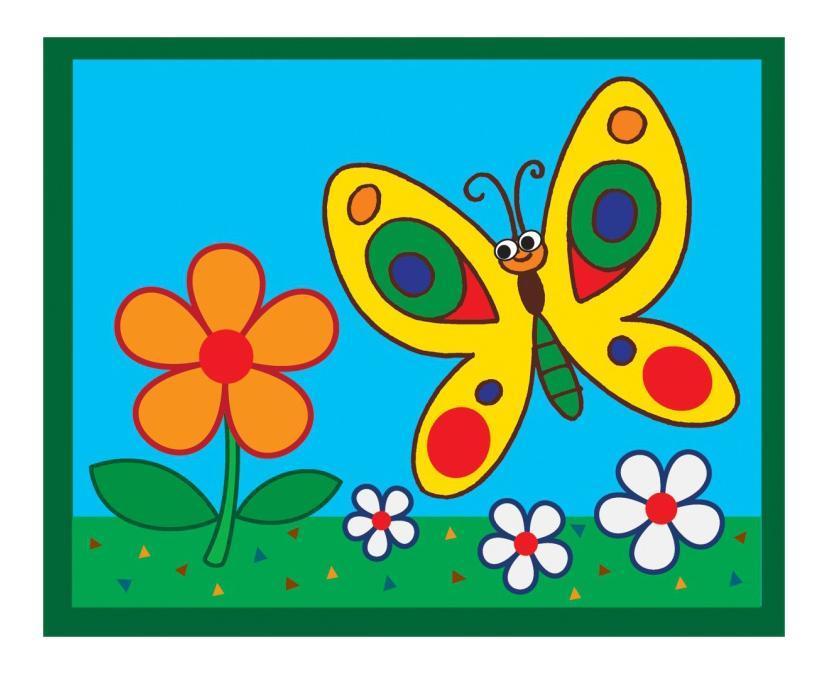 Детские красочные картинки для распечатки