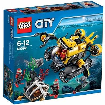 Конструктор LEGO CITY Глубоководная подводная лодка