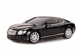 Машина р/у 1:24 Bentley Continental GT speed, цвет чёрный 27MHZ