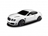 Машина р/у 1:24 Bentley Continental GT speed, цвет белый 27MHZ