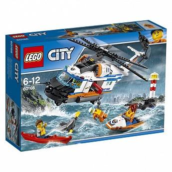 Конструктор LEGO CITY Сверхмощный спасательный вертолёт