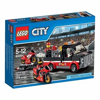 Конструктор LEGO CITY Перевозчик гоночных мотоциклов