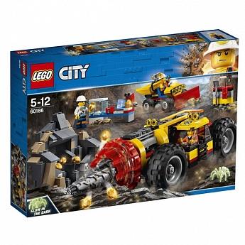 Конструктор LEGO CITY Тяжелый бур для горных работ City Mining