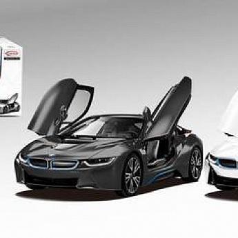 Машина р/у 1:14 BMW i8, дистанционно открывающиеся двери