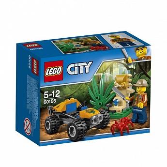 Конструктор LEGO CITY Багги для поездок по джунглям